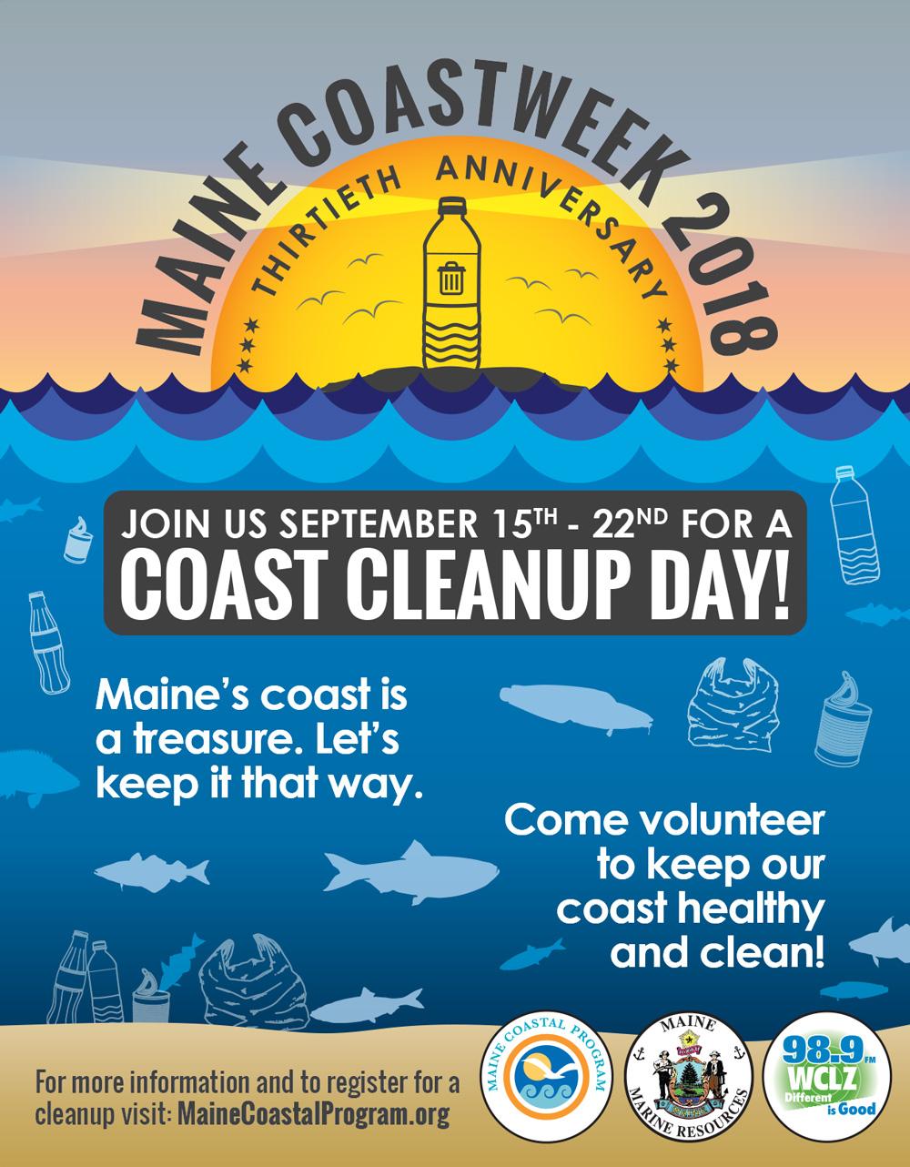 Maine Coastweek poster