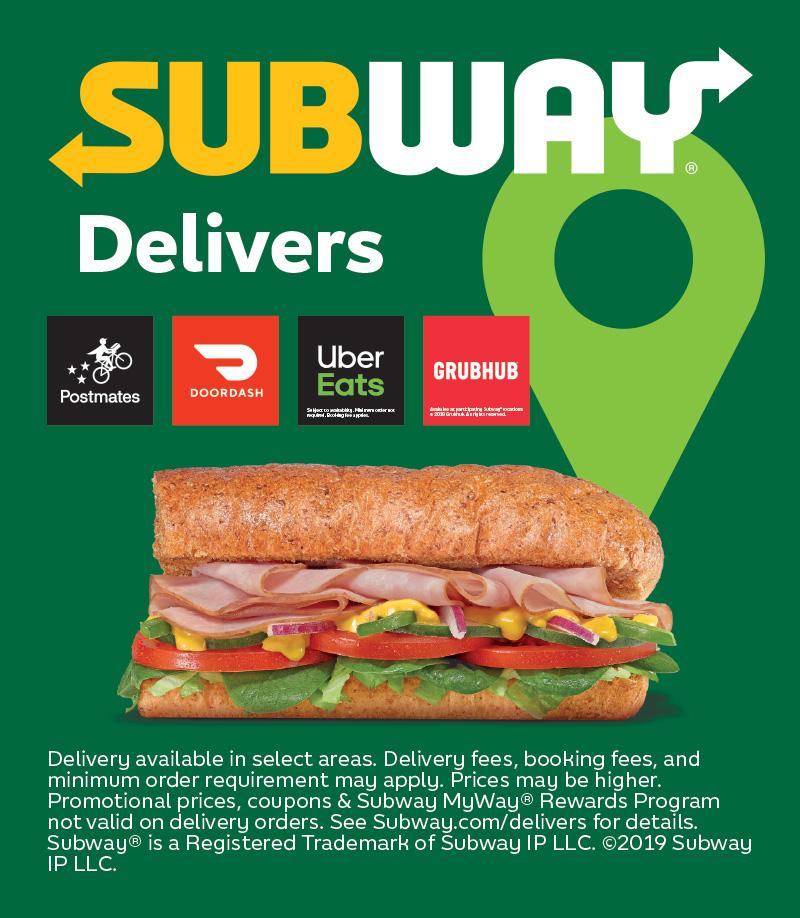 Subway print ad